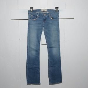Hollister slim boot womens jeans size 3 R 9876